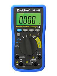 ЖК-цифровой дисплей Auto Range мультиметр многофункциональный инструмент holdpeak л.с. 90e