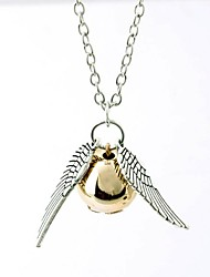 Unisex Snitch Gold Necklace(1ps)