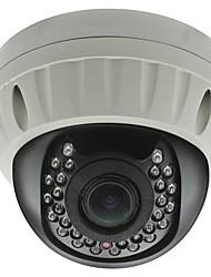 cctv 2.8-12mm varifocal IR a prueba de vandalismo cámara domo de 1/4 CMOS 700TVL con IRCUT 30m ir cubierta xv-8035h7