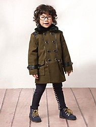 Boy's Viscose Jacket & Coat,Winter / Fall Solid