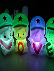 Household Adornment Handsome Beauty LED Nigth Light(Assorted Color)