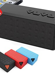 Portable Bluetooth Speaker with MicroSD Card Slot USB Slot Microphone