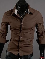 sportstreet Herrenmode Kontrastfarbe Shirt