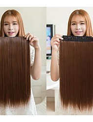 Hot Blast With Straight Clip Hair 22Inch 1Pc/Lot