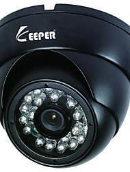 Indoor Metal Dome 1/3 CMOS 900TVL IR LED CCTV Camera