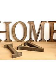 maison bricolage lettre signe la décoration, le bois