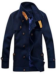 ouer magro tweed casaco térmico dos homens