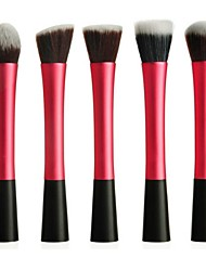 Hot Sale Professional Makeup Brush Set with 5Pcs Slender Waistline Brushes(Rose)
