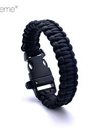 lureme® Paracord выживание побег свистеть браслет шнура