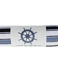 cilíndrica série oceano forma a ampla azul lençóis de algodão bar leme almofadas decorativas