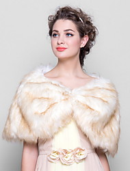 Fur Wraps Elegant Wedding/Special Occasion Fur Wrap
