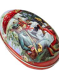 Couple Kangaroo Pattern Easter DIY Painted Eggshell ,Tinplate