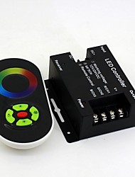 Wireless RGB Touching Remote Control w/ LED Controller Dimmer
