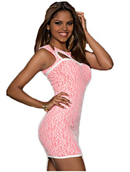 Beauty Fashion Women Bandage Printed Embroidery Floral Casual Bodycon Dress Sexy Summer Tank Club Dresses 9247