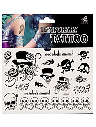 Fashion Temporary Tattoo Body Art Waterproof Stickers Safe Removable Multi Style 09