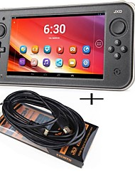 "JXD® Android 4.4 8Gb ROM 1Gb RAM DDR3 DUAL CORE 7"" Smart Game Consol with 1080P HDMI Cable Lead 4M Long for JXD S7300C"