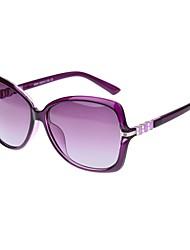 Polarized Women's Oversized TR90 Retro Sunglasses