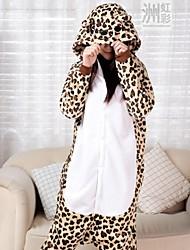 léopard mignon kigurumi adulte de pyjama des femmes qianjiatian