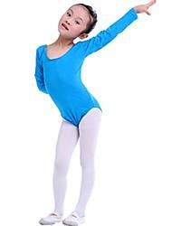 Ballet Kid's Cotton Long Sleeve Fashion  Dress(More Colors) Kids Dance Costumes