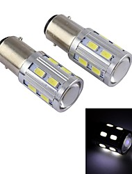 16w BA9s High Power Auto-LED-Nebelscheinwerfer, 16LED, DC12V, 80lm, Energieeinsparung, Umweltschutz (weiß)