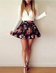 Seng.ni  Women's  European Fashion Elegant Cheap Dress