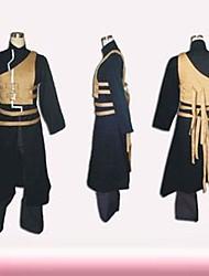Naruto Gaara Second Generation Black Cosplay Costume