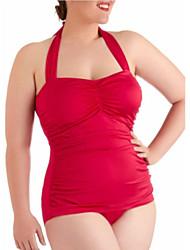 foclassy 2015 nova chegada empurrar para cima o tamanho mais um pedaço swimwear mulheres sexy