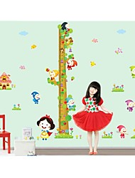 Wall Stickers Wall Decals, Style Dwarf People Measure Your Hight PVC Wall Stickers