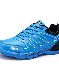 Men's Running Shoes Tulle Blue/Green