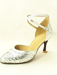 Modern Customizable Women's High Heels Sparkling Glitter Dance Shoes (More Colors)