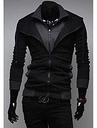 Playgame Men's Casual Contrast Color Hoodie