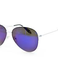 Anti-Reflective Aviator Metal Retro Sunglasses