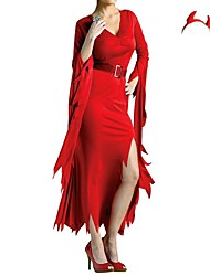nuove red devil poliestere donne cosplay strega halloween costumes