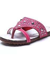 Girls' Shoes Flip Flops Flat Heel Leather Sandals Shoes More Colors available