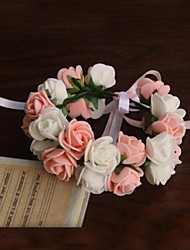 Elegant Rose Wedding Flower Bridal Wrist Corsages