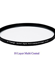 TIANYA® 37mm MC UV Ultra Slim XS-Pro1 Digital Muti-coating UV Filter for Sony 1500C Olympus 14-42mm Lens