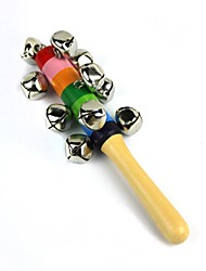 Orff Musical Instrument Wooden Rattle Bell