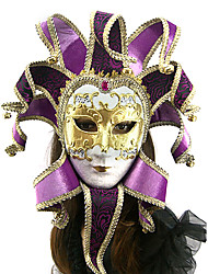 viola stile veneziano maschera di carnevale