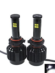 CONQUER®2PCS H11  40W High Brightness High Power CREE LED Headlight Headlamp for Car
