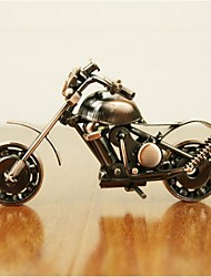 """3.6""""H Modern Style Creative Motorcycle Iron Collectible (Random Delivery)"""