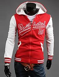 SPORTSTREET Men's Fashion Letter Pattern Hoodie