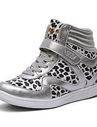 chao xi cax nuevos zapatos de leopardo transpirable zapatos zapatos de 8 cm