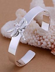 мода посеребренные браслет женщин браслет