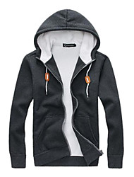 Men's Simple Casual Thick Hoodies