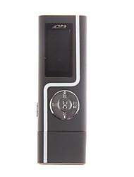 Jogador 3s dupla fone de ouvido mp3 com usb em linha (8GB)
