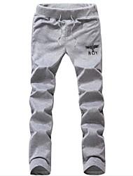casuais calças esportivas bronzeadores dos homens