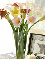 Plastic Calla Lily Artificial Flowers