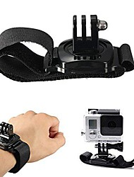 360 Degree Rotation Wrist Hand Strap Holder with Mount for Gopro Hero 2 3 3+4
