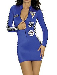 Cheerleader Costumes Women's Fashion Slim Long Sleeve Dance Dress