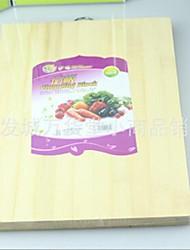 tábua de cortar bambu, bambu 32 × 24 × 3,5 centímetros (12,6 × 9,5 × 1,4 polegadas)